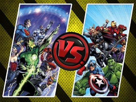 comics vs versus marvel vs dc comics