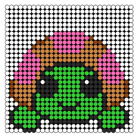 perler bead turtle pattern pinki turtle perler bead pattern bead sprites animals