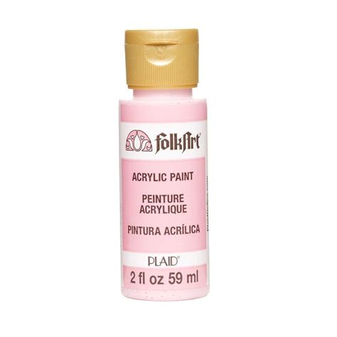 home depot paint pink folkart 2 oz baby pink acrylic craft paint k633 the