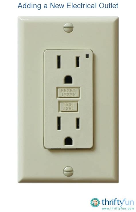 electrical outlet s adding a new electrical outlet thriftyfun