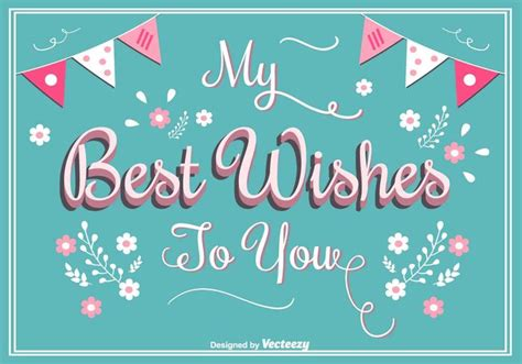 how to make best greeting cards best wishes greeting card free vector