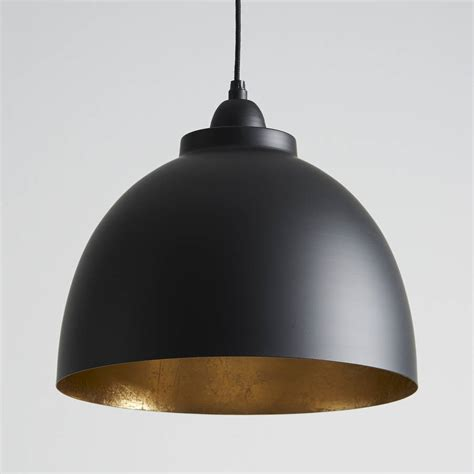 black pendants black and gold pendant light by horsfall wright
