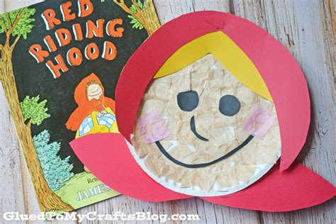 wolf paper plate craft paper plate kid craft glued to