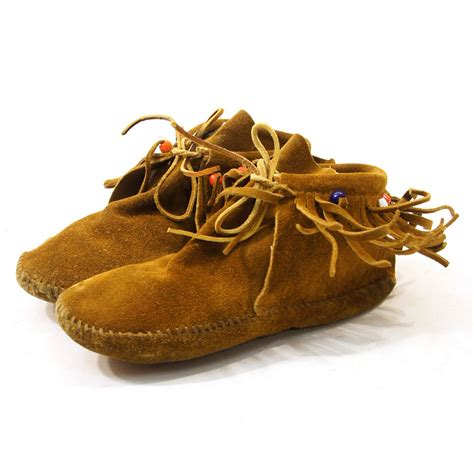 beaded moccasins and suede ankle moccasins with beaded fringe s by