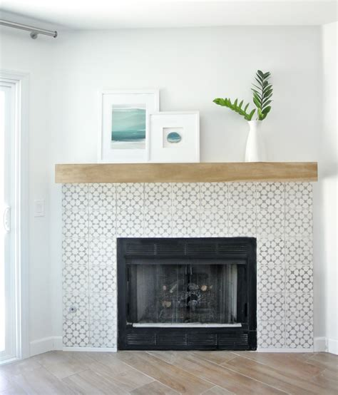 easy fireplace makeover diy fireplace makeover centsational style