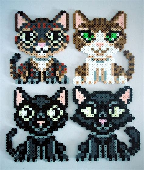cat perler 89 best images about hama cats on