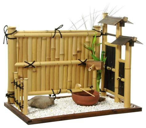 rock home decor zen bamboo mini rock garden home decor houzz