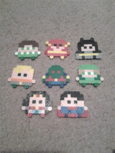mini perler perler justice league mini s by munch1111 on