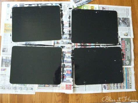 diy chalkboard placemats diy chalkboard paint placemats inspiration chalkboard