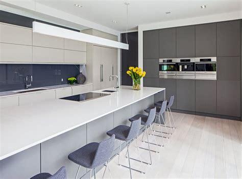 grey modern kitchen design 20 astounding grey kitchen designs home design lover