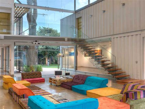 maison home interiors interior designed homes shipping container home