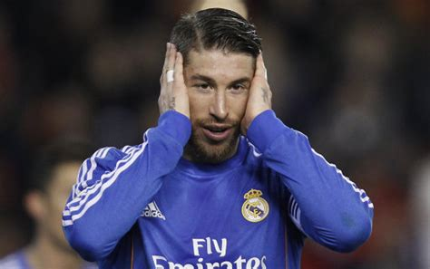 football ink sergio ramos proudly shows off new