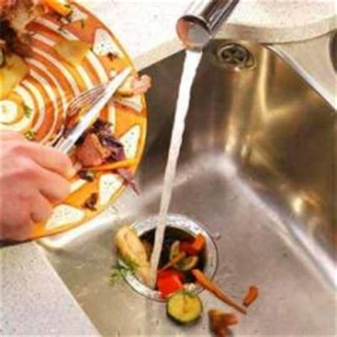 clogged kitchen sink with garbage disposal garbage disposals ecodyger