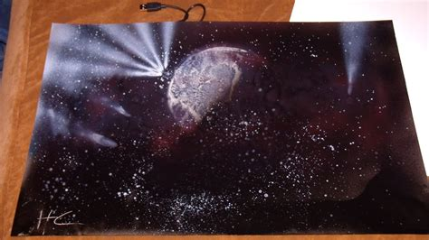 spray paint space my spray paint space painting 3 by