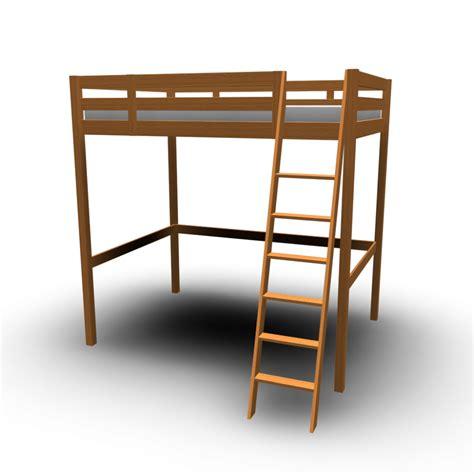 loft bed frames stor 197 loft bed frame design and decorate your room in 3d