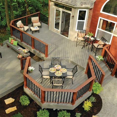 deck to patio designs best 25 wood deck designs ideas on decks