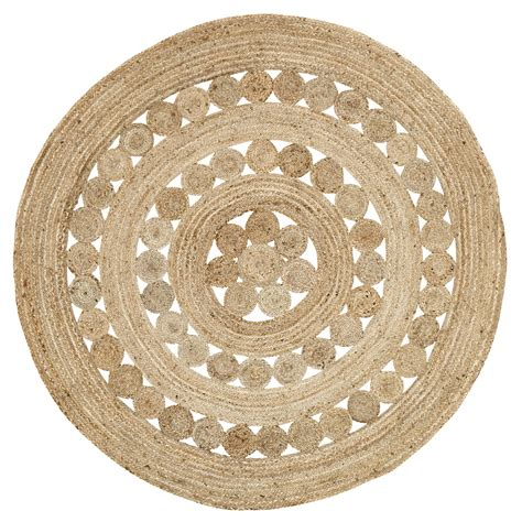 6 foot rugs celeste 6 foot jute rug by vhc brands the patch