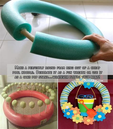 15 fun things you can do with your old pool noodles