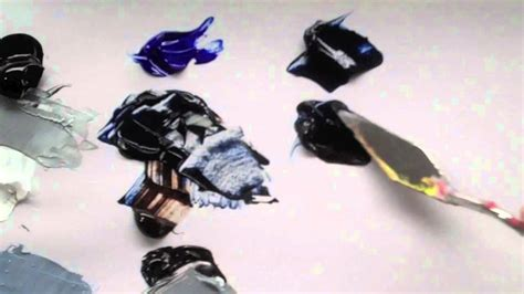 acrylic paint how to make black how to mix warm and cool black acrylic paint