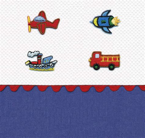 transportation crib bedding transportation crib bedding by blauen