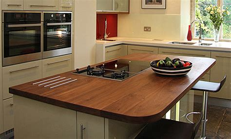 kitchen island worktops uk walnut island worktop bordercraft