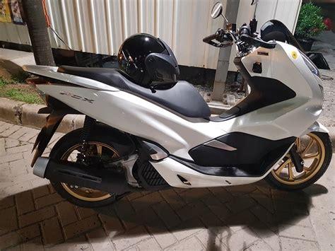 Pcx 2018 Warna Emas by Honda Pcx 150 Velg Emas Warungasep