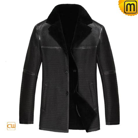 leather and shearling jacket mens sheepskin lined shearling leather jacket cw877255