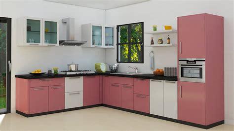 Normal Home Kitchen Design l shaped modular kitchen designs