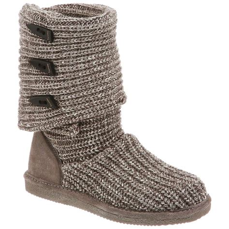 bearpaw gray knit boots bearpaw s knit boot at moosejaw