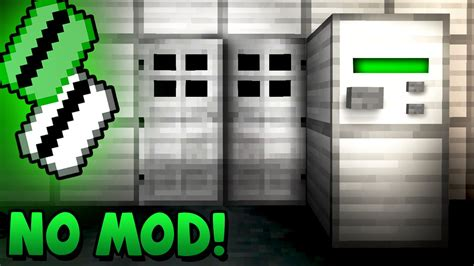 how to make a key card security key card activated door minecraft tutorial