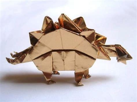 origami stegosaurus origami stegosaurus by montroll part 1 of 3