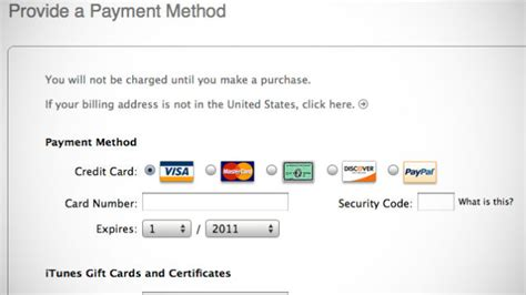 can u make an apple id without a credit card create an apple id in itunes account without a credit card