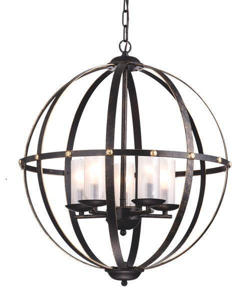 modern cage chandelier world globe cage chandelier bronze industrial