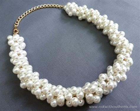 pearl bead necklace craftionary