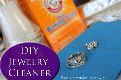 how to make silver jewelry cleaner how to make your own jewelry cleaner i just tried this