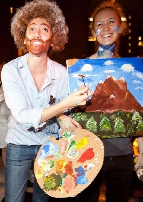 bob ross paintings costume bob ross costume viewers like you