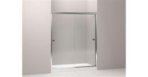 kohler sliding shower doors kohler devonshire frameless sliding shower door kohler