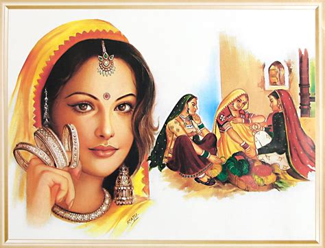 indian painting indian paintings 9 bangle seller indian paintings