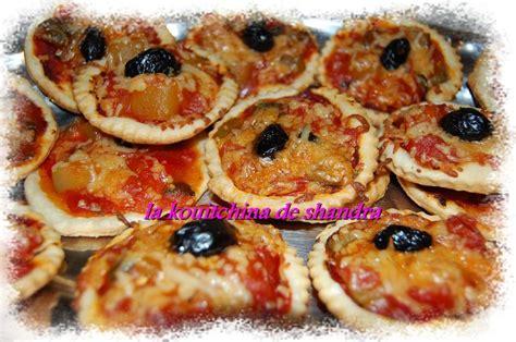 mini pizzas ap 233 ritifs la kouitchina de shandra