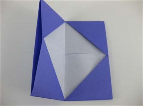 origami credit card holder origami card holder folding how to fold an