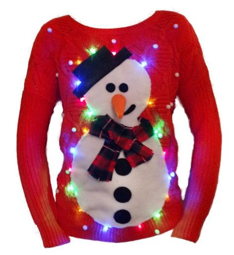 sweaters for with lights 1000 ideas about light up jumpers on