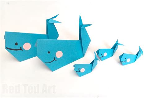 whale origami easy origami whale paper crafts for ted s