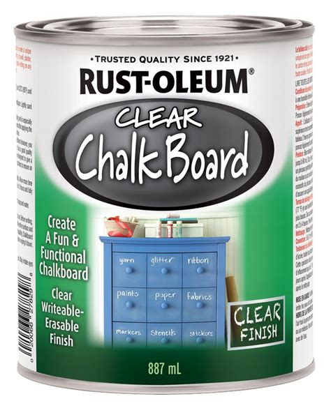 chalkboard paint home depot canada rustoleum rustoleum specialty clear chalkboard the home