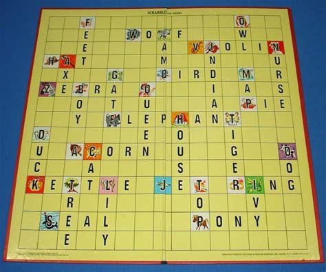 selchow righter scrabble selchow righter scrabble for juniors crosswords board