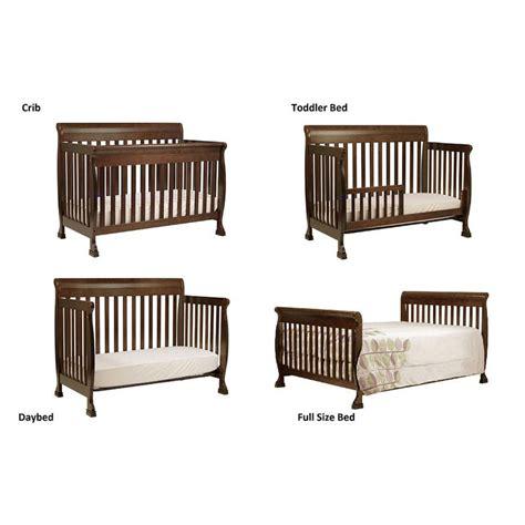 convertible cribs to bed davinci kalani 4 in 1 convertible crib with toddler rail