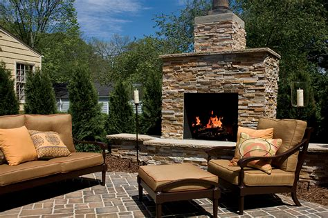 outdoor fireplace outdoor fireplaces brick