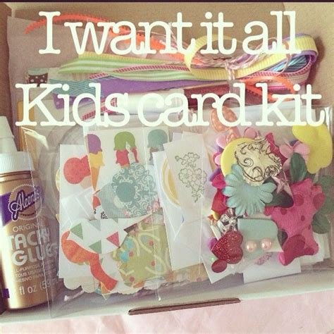 make your own card kits 31 best images about card kits on diy