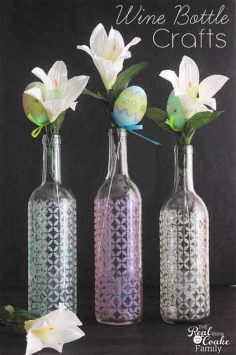wine bottle craft projects 37 amazing diy wine bottle crafts page 2 of 8 diy