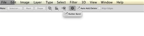 rubber st tool photoshop photoshop s pen tool can be set to give an indication of