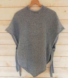 how to knit a poncho for beginners pattern best 25 poncho knitting patterns ideas on